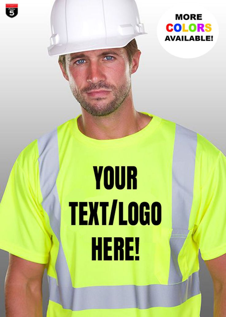 Personalized Safety T-shirt custom new business shirt working gear Unisex sizes S-5XL by Creation5Official on Etsy