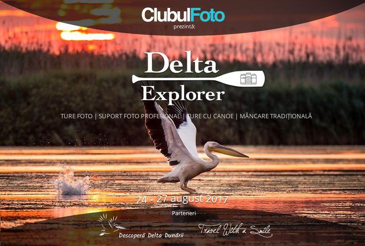 Hai cu noi in Delta Explorer: Prima tabara foto organizata de Clubul Foto!