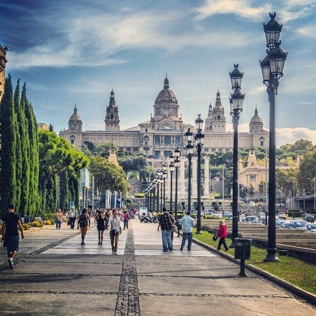 Montjuïc, Barcelona - Spain