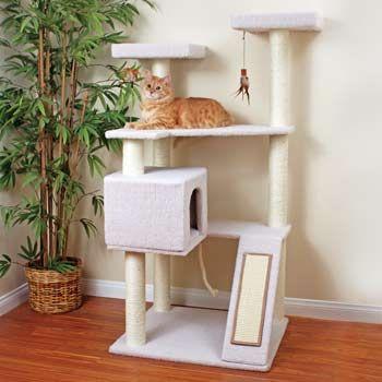 Petco Premium Tree Terrace for Cats- DIY inspiration
