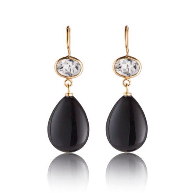 Sarina earring, Black Onyx