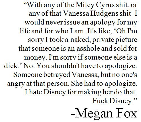 Megan Fox quote