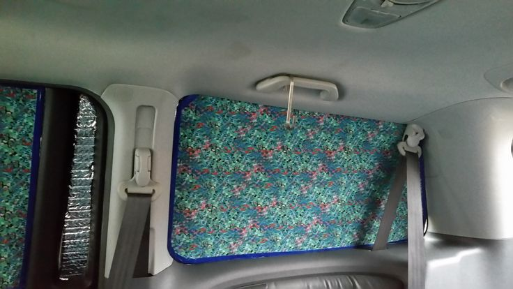 Diy Insulated Van Or Rv Window Coverings Insulation And