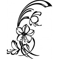 autoaufkleber selber gestalten Blume 10