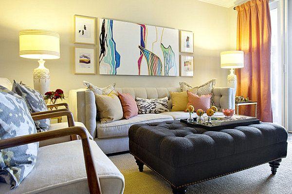 Wie man ein Wohnzimmer dekoriert