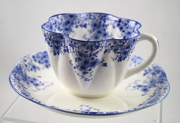 German Antique Tea Cups Saucers | Shelley England Blue White Floral Tea Cup Saucer | eBay