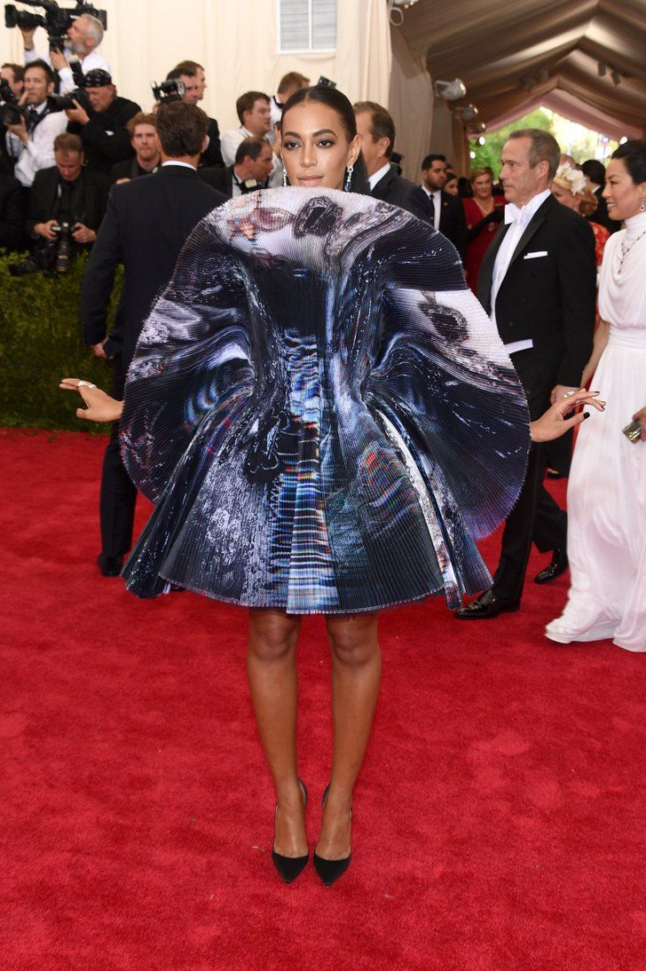 Pin for Later: Get a Load of All the Glamour on the Met Gala Red Carpet! Solange Knowles