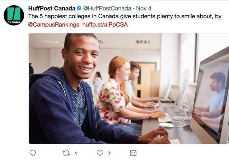 Thanks @huffpostcanada for sharing this.  Being happy at school is so important.  Link in bio. . . . . . . #pin #university #tuition #Canada #student #studentlife #happiness #happy #mentalhealth  @lakelandcollege @snpolytechnic @oultoncollege @peopleofbriercrest