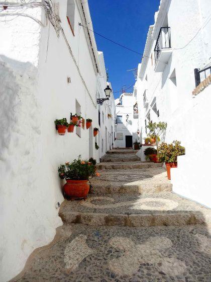 アンダルシア州の山麓の小さな村は、別名「白い村」。厚く塗りたくった外壁が純白に輝き、眩しくて目を開けていられないほどでした。                              はじめまして!現在ヨーロッパ放浪中のokashoと申します。すれ違うのがやっとぐらいの路地が好物です。私がまずレポートしたいのが「スペインで最も美しい村」に選ばれたこともある、フリヒリアナという村です。         今回、スペイン南部の街マラガ(A)からフリヒリアナ(B)を目指します。  大きな地図で見る      まずは、マラガから手前の街ネルハへ。ALSA社から約1時間おきにバスが出ています。       車窓からの風景。左手には岩肌むき出しの山々が続きます。       約1時間バスに揺られ……       ネルハに到着。向いのバス停でフリヒリアナ行きのバスに乗り換えます。マラガ共に最低限の英語は通じ、簡単にチケットも買えるのでご安心を。ネルハからバスで約15分……      フリヒリアナに到着!ホントに白い……。    …