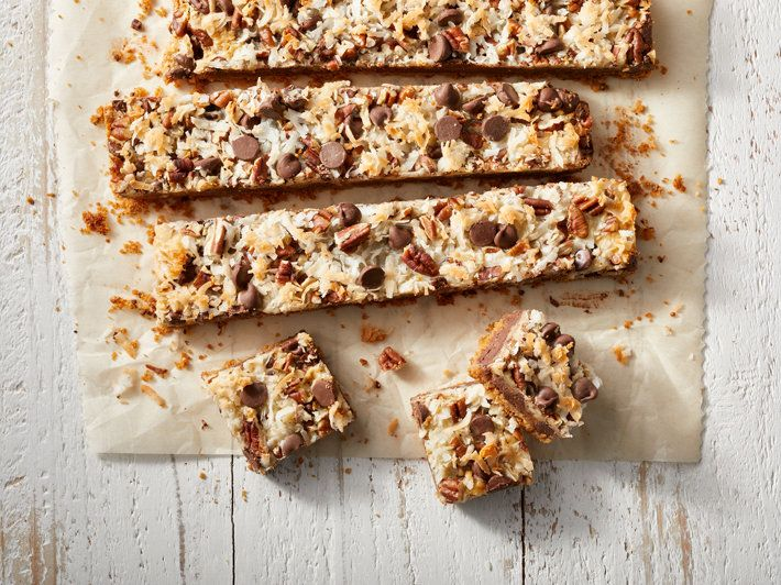 Magic Cookie Bars Recipe Milk Recipes Magic Cookie Bars Cookie Bars