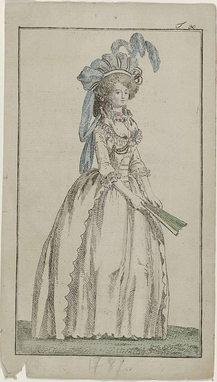 Georg Melchior Kraus | Journal des Luxus und der Moden, november 1787, T 30…