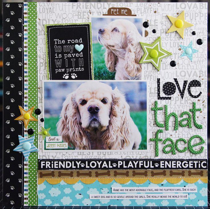 Love That Face *Bella Blvd* - Scrapbook.com