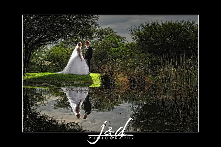 J & D Photography - South African Wedding Photographers - Reflections