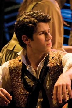Nick Jonas as Marius Pontmercy, was acutally really impressed by the job he did. Surprise, surprise. Who knew?