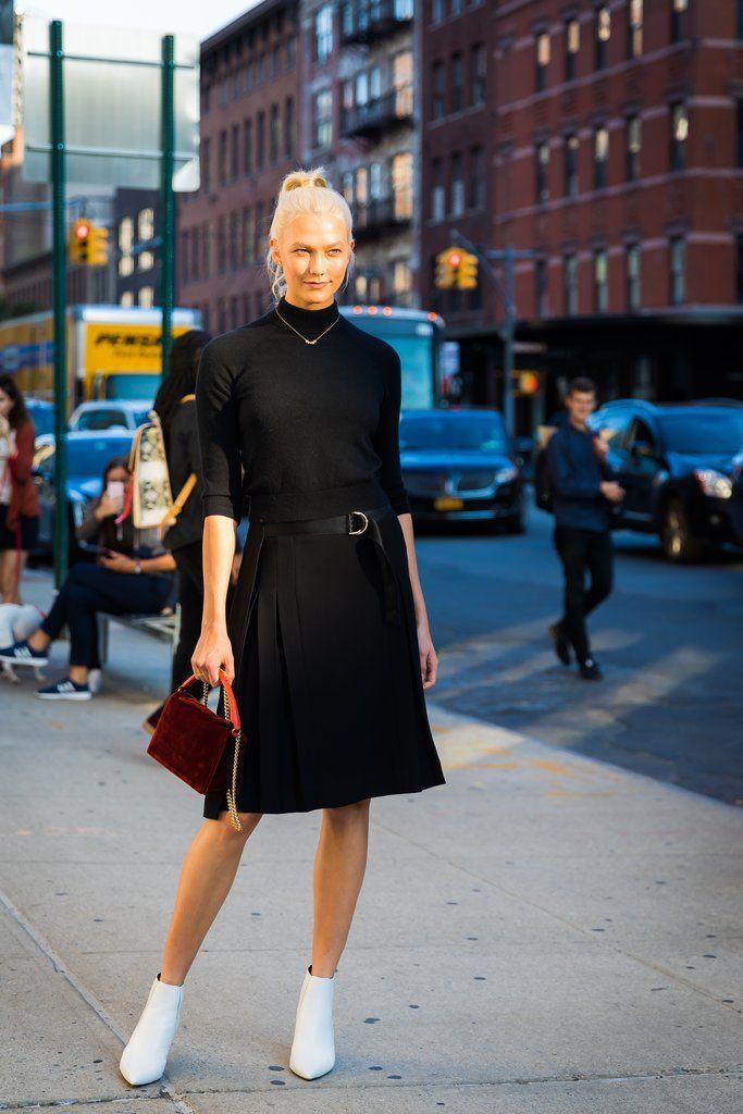 Street Style New York Fashion Week Spring 2018   POPSUGAR Fashion