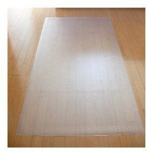 床を保護するフロアシート クリア 1畳 [180×91cm、厚さ1.5mm] (A712) チェアマット