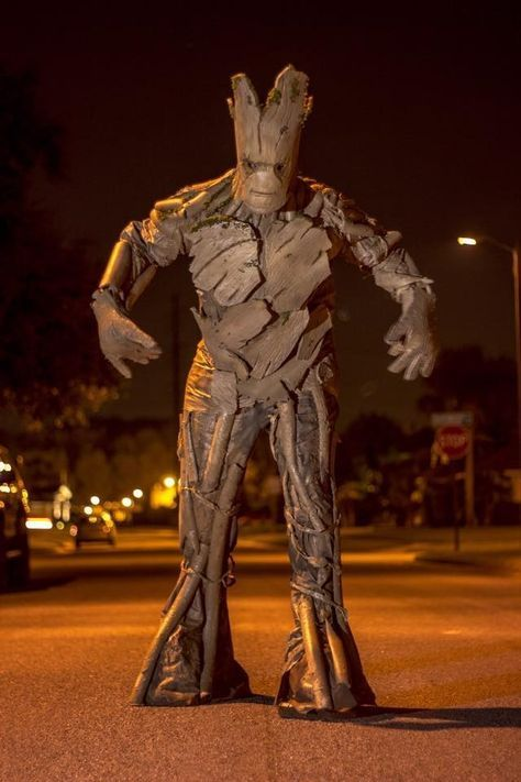 This Mind-Blowing Groot Halloween Costume Is Basically A Work Of Art
