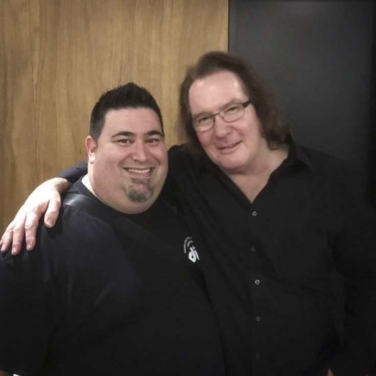 DW President John Good with our drum manager Darren during his recent trip to Melbourne #dw #dwdrums #drumworkshop #drums #drummer #drummerslife