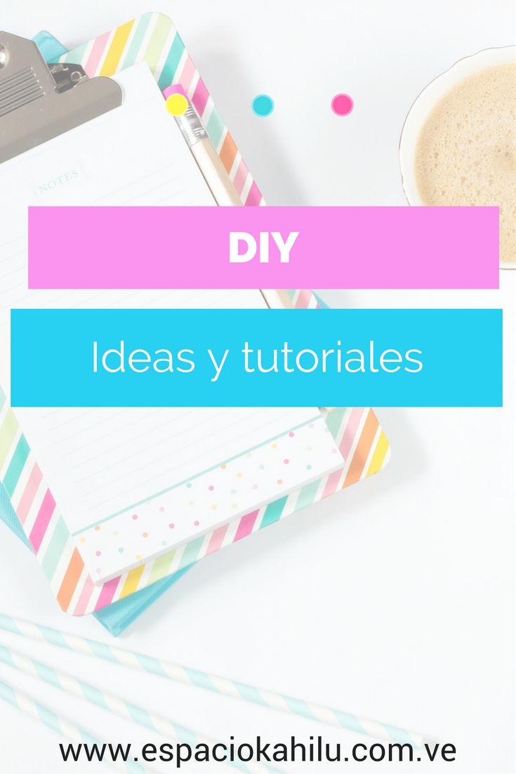 DIY y tutoriales lindos para emprendedoras creativas. DIY fáciles de hacer, craft moderno, tutoriales sencillos, DIY para organizar, tutoriales para decorar, manualidades modernas, trabajar con manualidades, ganar dinero con manualidades, blog de diy