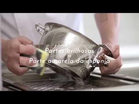 Como limpar a Panela Inox para manter seu brilho? - YouTube