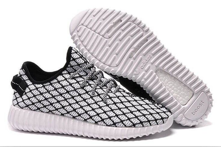 Adidas Yeezy Low Black And White