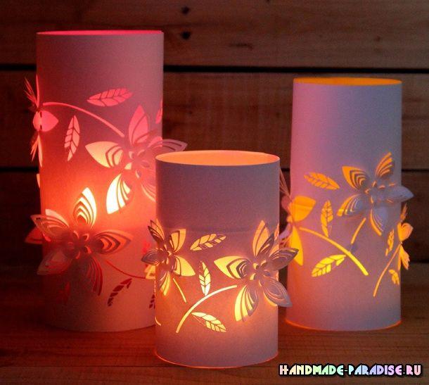 Бумажные фонарики своими руками. Шаблоны