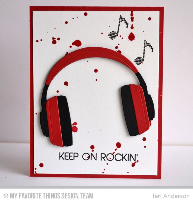 Teri Anderson: A Bit of This. A Bit of That – MFT: Launch - 2/3/15 (MFT: Headphones die; Keep on Rockin' stamps) (Pin#1: Teens & Youth. Pin+: Music...)