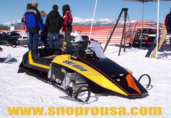 1981 Skidoo 440 snopro I think this is the best looking race sled made. I would have loved to have raced it.