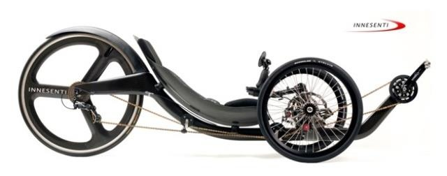 Backwards Tricycle Cool bike built using Formula 1 racing and Indy Car racing technology
