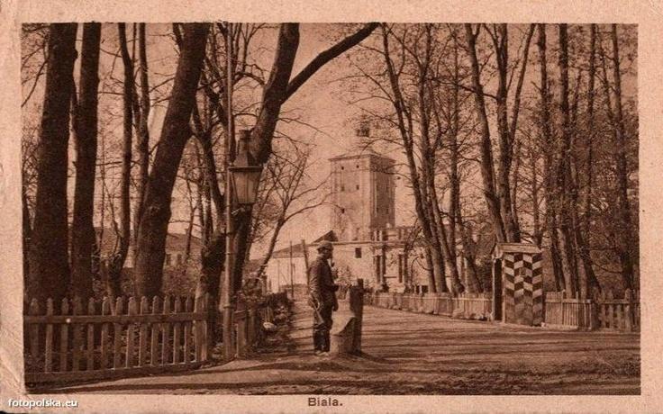 Biała Podlaska, ok. 1917 r. Obecnie Zespół pałacowo-parkowy Radziwiłłów.