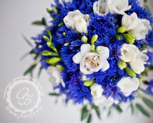 синий свадебный букет - Поиск в Google
