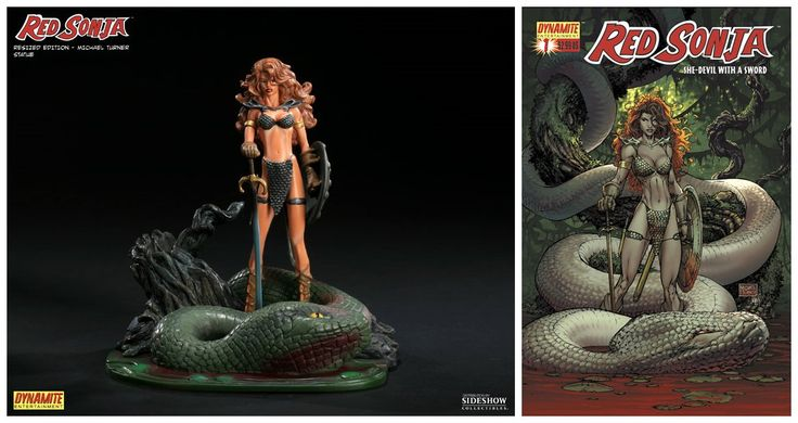 Red Sonja - Michael Turner Statue by Dynamite Entertainment
