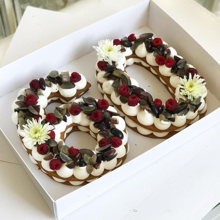 מזל טוב נוסף לתחילת עשור חדש #gargeran #birthdaycake #raspberry #vanilla #biscuit #cake