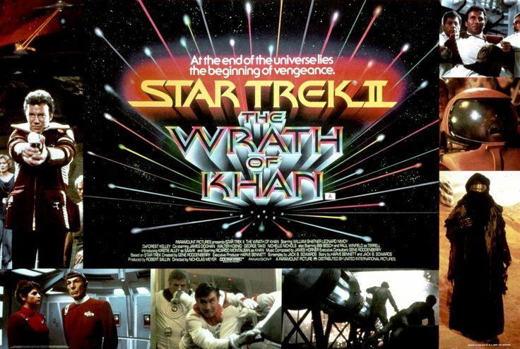 Star Trek II: The Wrath of Khan (1982) poster