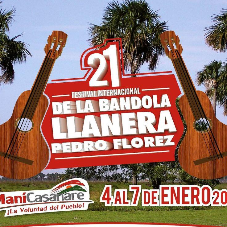 Festival Internacional de la Bandola Llanera Pedro Flórez, Maní, Casanare, Colombia 2013