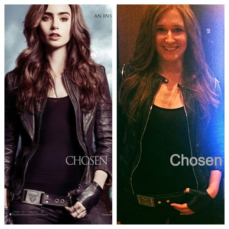 Shadowhunter Clary Fray cosplay for the midnight premiere of The Mortal Instruments: City of Bones. ➰➰➰