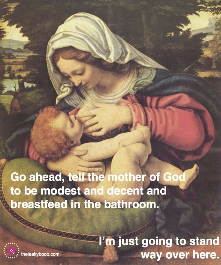 Breastfeeding and following Jesus: Uninviting modesty to the breastfeeding discussion.