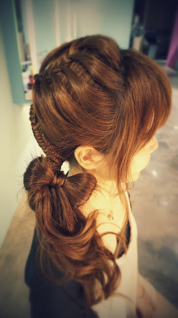 hair styles for winter 25 best ideas about bow braid on pretty 8579