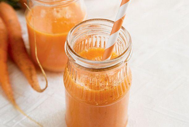Смузи из манго и моркови