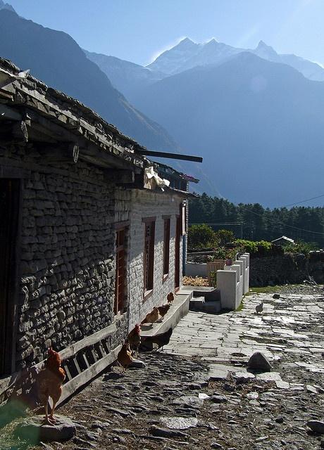 Lete, Nepal - Himalayas