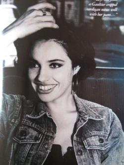 beatrice dalle epitome of jolie laide.