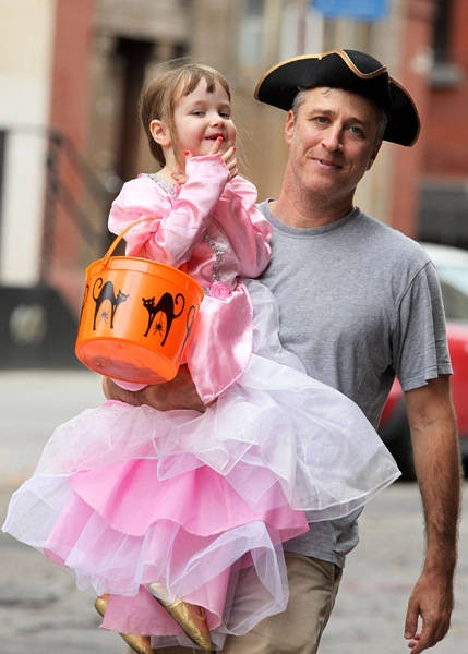 Photo of Jon Stewart & his  Daughter  Maggie Rose Stewart