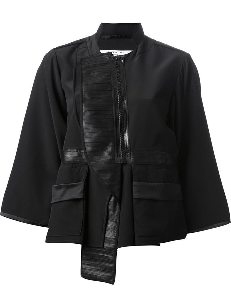 Givenchy Structured Cropped Jacket - Stefania Mode - Farfetch.com