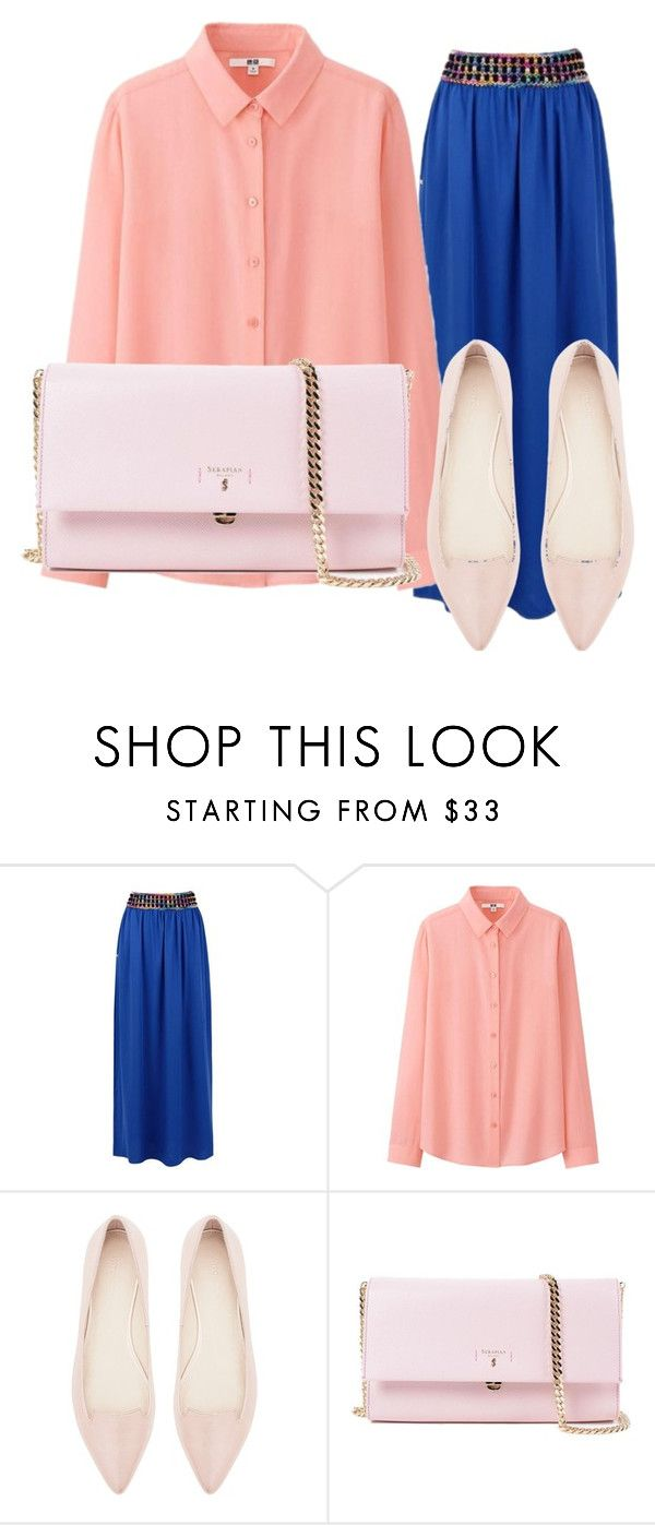 """Без названия #133"" by ashartyray on Polyvore featuring мода, Uniqlo, Witchery и Serapian"