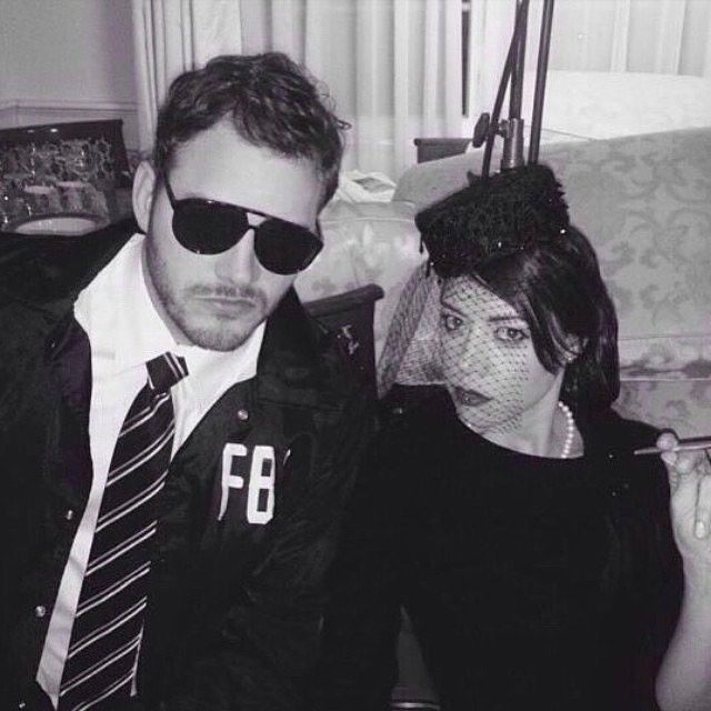 My name is Burt Macklin... And I'm with the fuckin' F.B.I.  Please follow my TV wife @plazadeaubrey Aubrey Plaza AKA Janet Snakehole. She is new to Instagram. 👍🏼🙏😉😊 She is going to post really weird and funny stuff.  #parksandrec #burtmacklinyousonofabitch