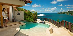 Sandals Regency La Toc Resort & Hotel in St Lucia - All Inclusive Accommodations