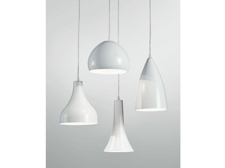 Lampada a sospensione a LED in metallo BLANCNOIR by Olev by CLM Illuminazione   design STEFANO TONELLOTTO, Marco Alessi, Simone Menegatti