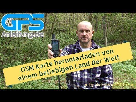 OSM Karte weltweit herunterladen für Garmin GPS und BaseCamp von openstreetmap.nl | Outdoor GPS Navigation . Info