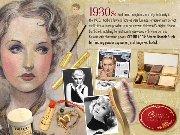 Acabado en polvo, cepillo cosméticos para el cabello Besame mucho - 2