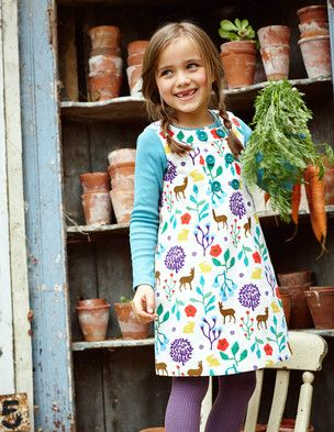 I've spotted this @BodenClothing Button Pinafore Dress